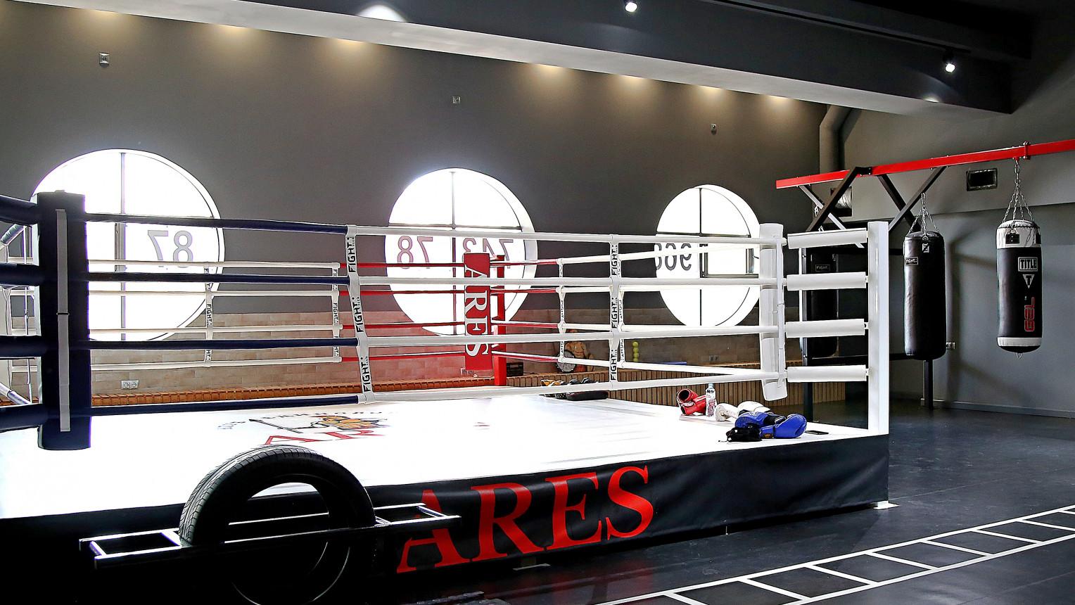 Зал для боевых видов спорта