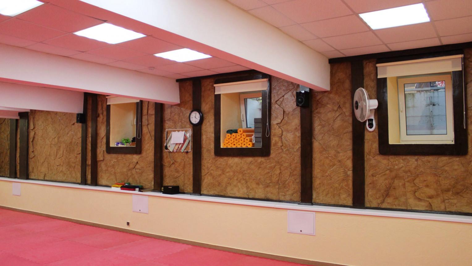 Спортивный зал для единоборств и спорта - фото №1