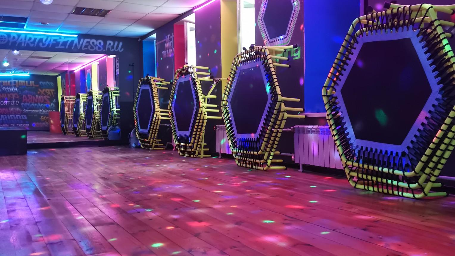Спортивно-танцевальный зал