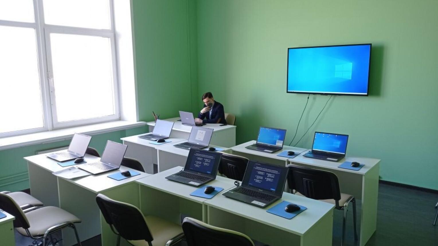 Аудитория с компьютерами
