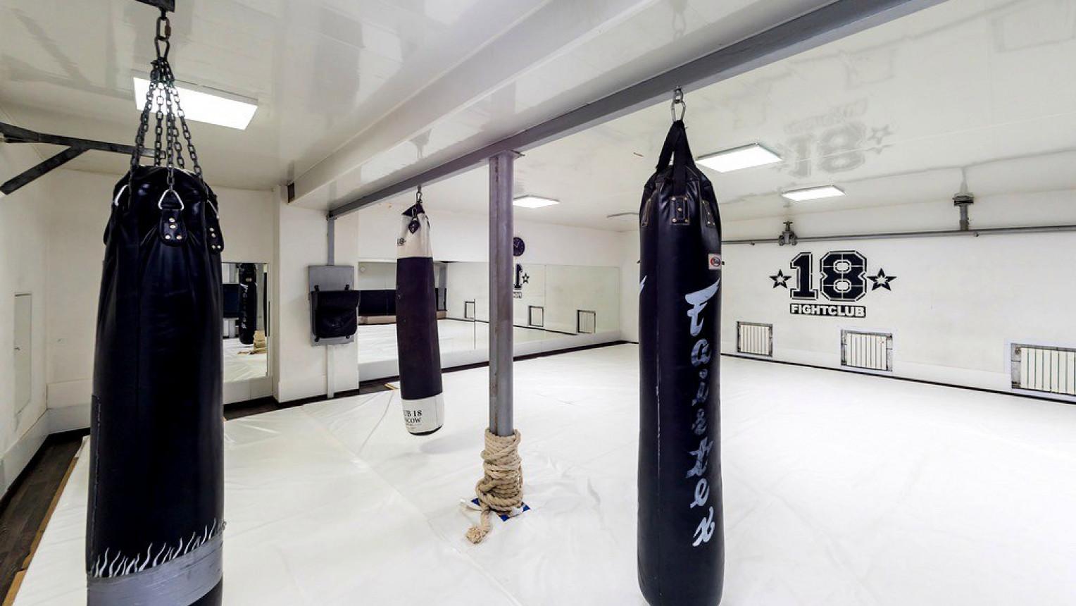 Мягкий зал боевых искусств