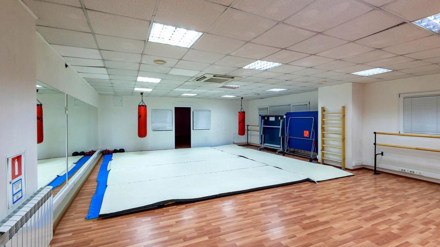 Зал для фитнеса и танцев - фото №1