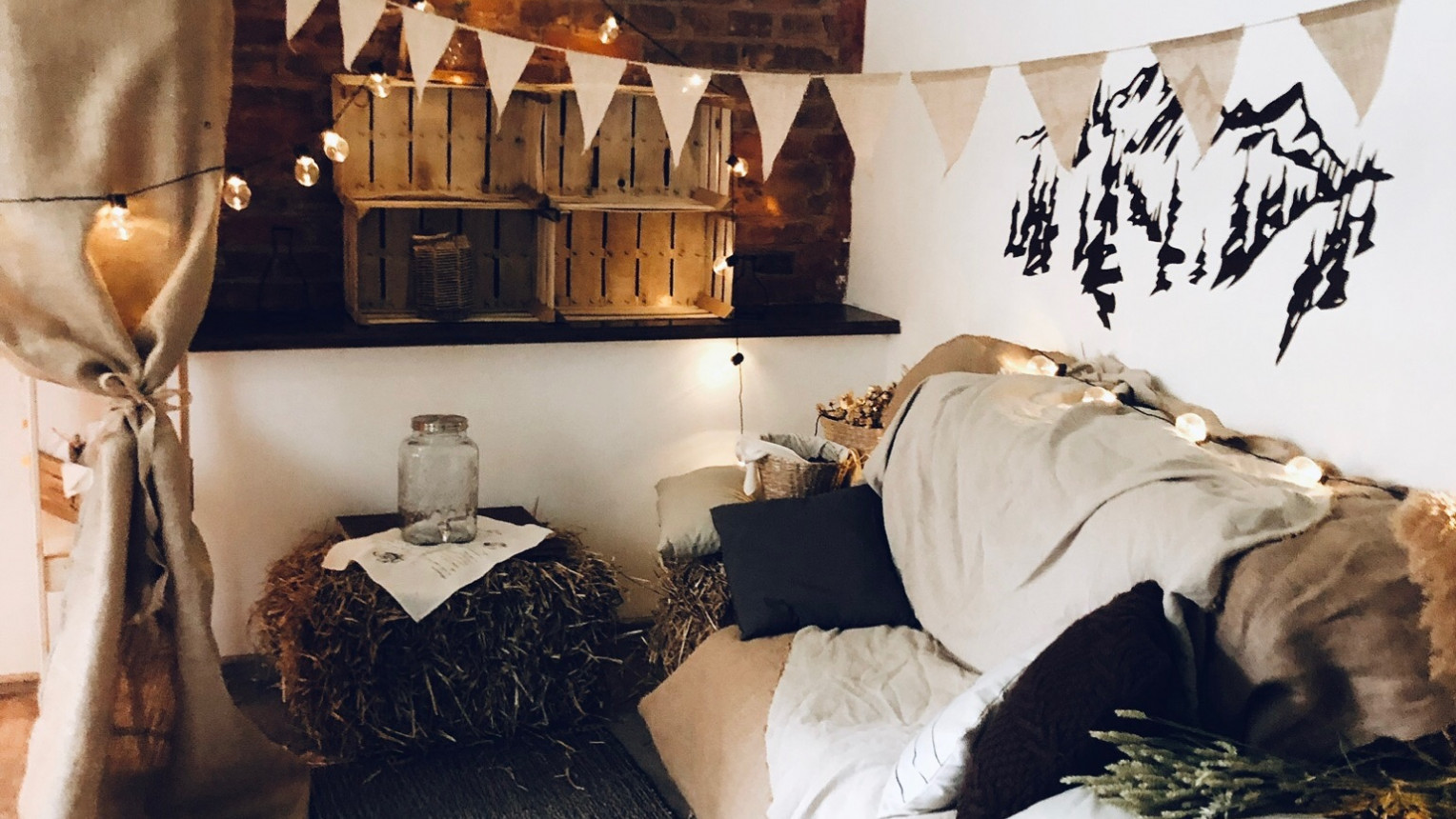 Уютный лофт в скандинавском стиле - фото №7