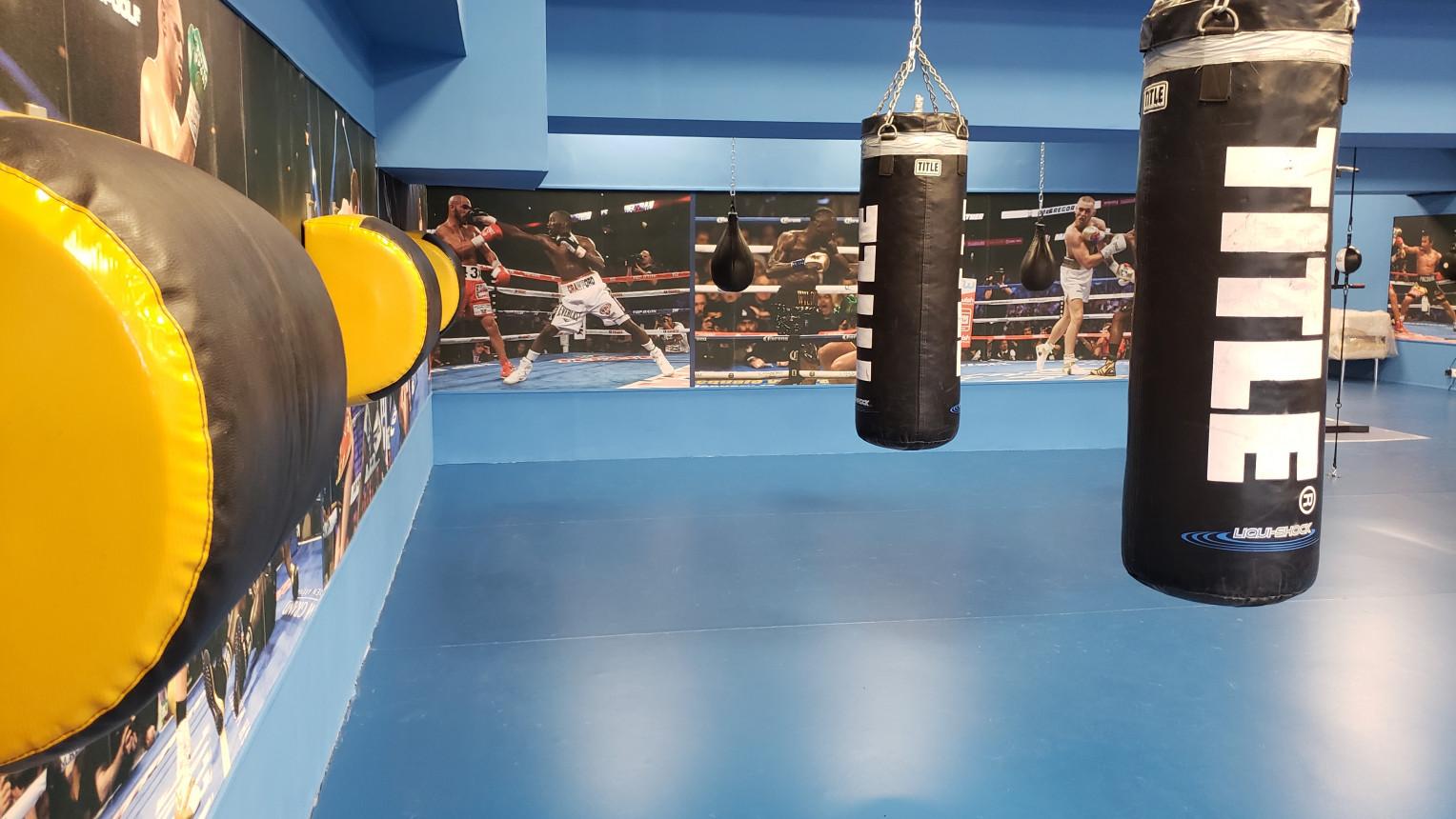 Зал бокса