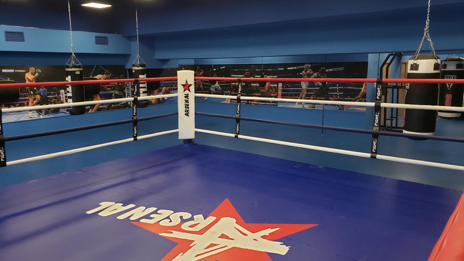 Зал для бокса