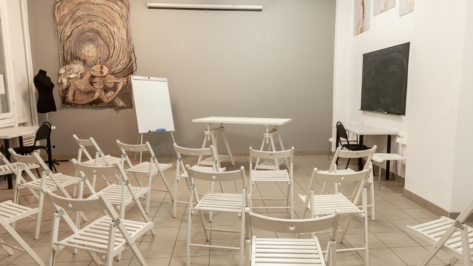 Зал для тренингов, семинаров и мастер-классов - фото №1